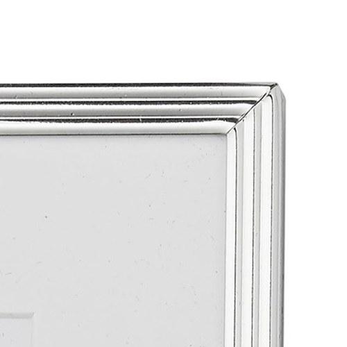 丹麥LeneBjerre 銀色細線矩形相框 (高21公分)