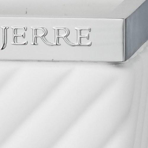 丹麥LeneBjerre 現代斜紋牙刷架 (白)