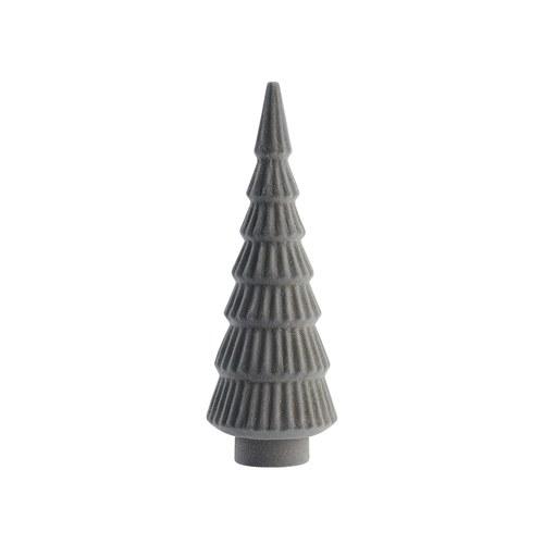 丹麥LeneBjerre 溫馨耶誕小樹立體擺飾 (灰)