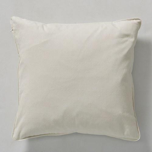 丹麥LeneBjerre 優雅葉紋刺繡抱枕