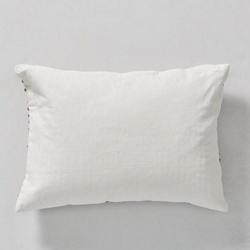 丹麥LeneBjerre 立體圓點刺繡靠枕 (粉)