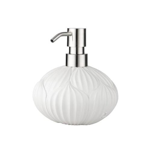 丹麥LeneBjerre 荷花苞造型洗手乳罐 (白)