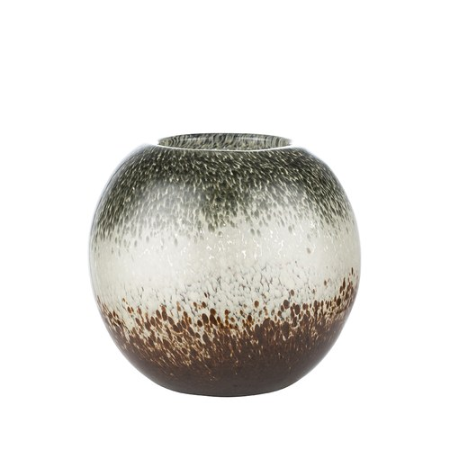 丹麥LeneBjerre 草原薄暮玻璃花器 (高12公分)