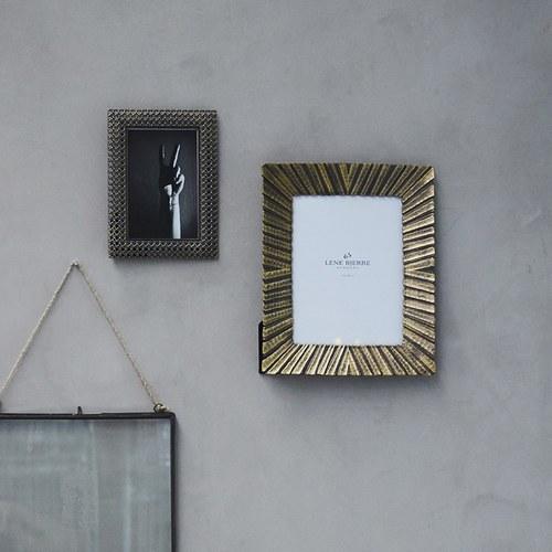 丹麥Lene Bjerre 復古奢華古銅相框 (高25公分)