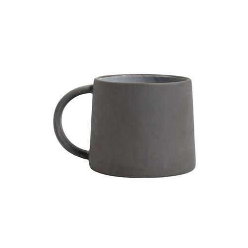 丹麥Nordal 仿石陶瓷水杯 (黑)