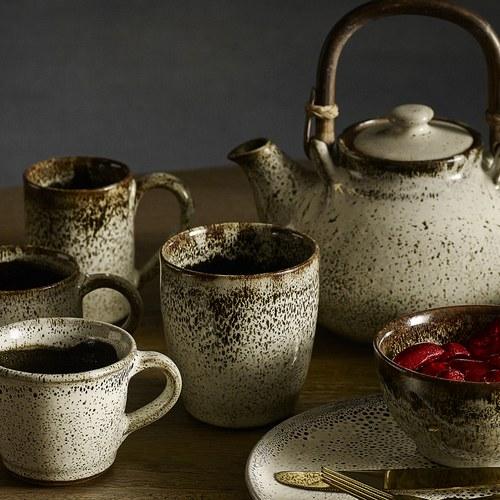 丹麥 Nordal 古樸流釉水杯