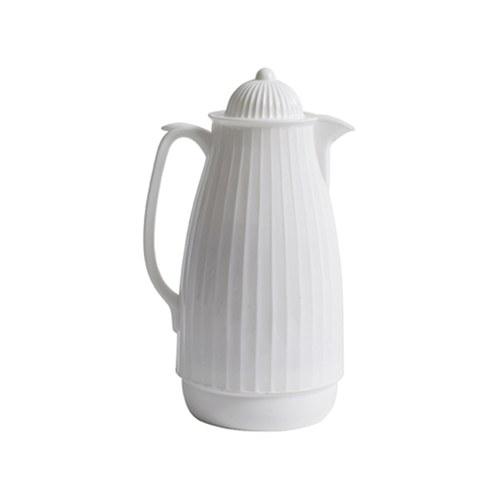 丹麥Nordal多立克柱式保溫咖啡壺(白)x高29公分