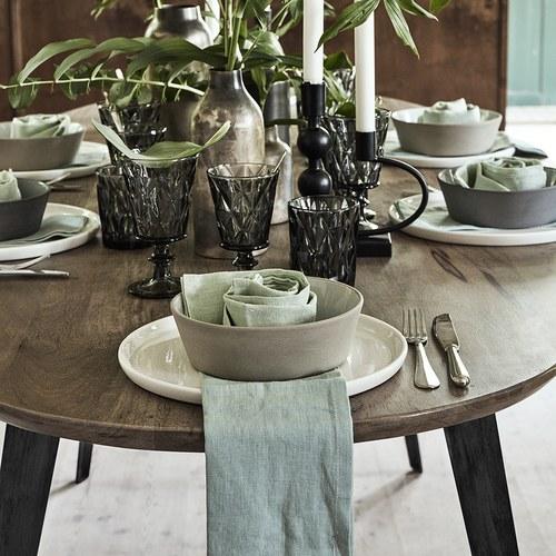 丹麥 Nordal 簡約橢圓形餐桌