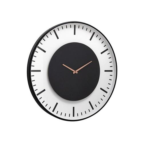 丹麥Nordal 仿車站圓形掛鐘 (直徑75公分)