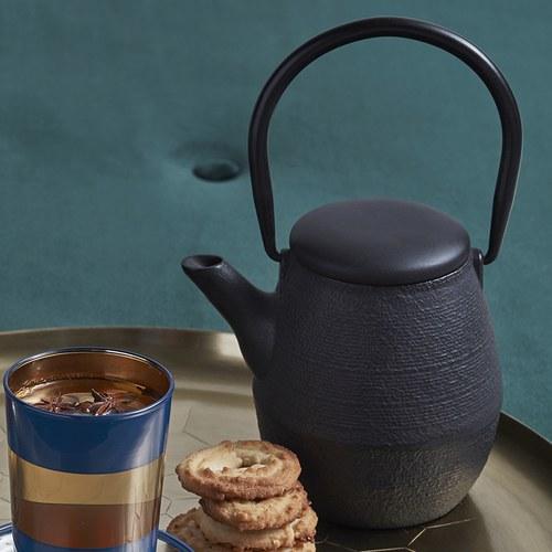 丹麥Nordal 經典造型鑄鐵壺 (0.7公升)