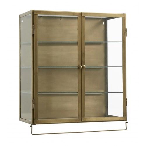 丹麥 Nordal 簡約古銅金雙門壁櫃