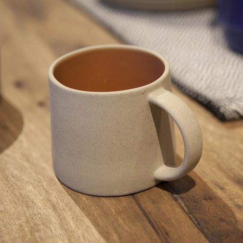 丹麥Nordal 仿石陶瓷水杯 (橘)
