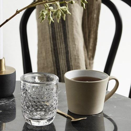 丹麥Nordal 仿石陶瓷馬克杯 (米)