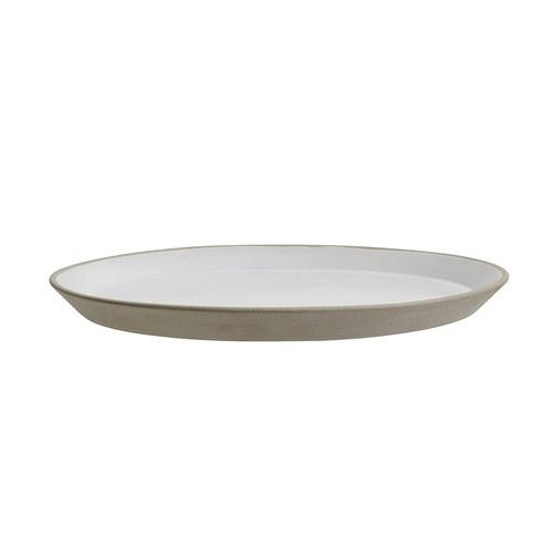 丹麥Nordal 仿石陶瓷餐盤 (米、直徑27公分)