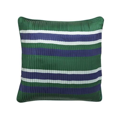 丹麥Nordal 潮流多色線條靠枕 (綠)