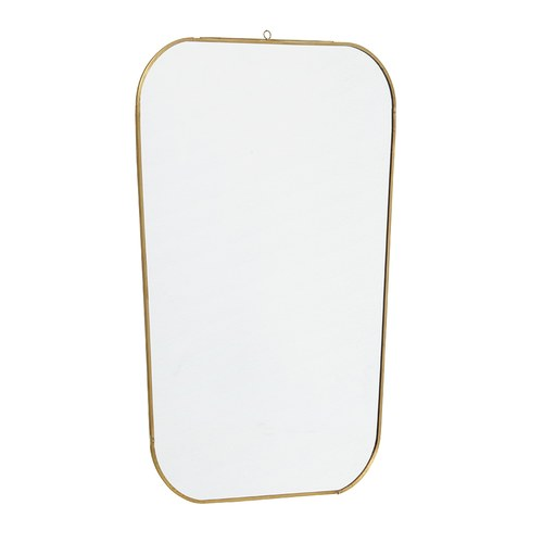 丹麥Nordal 金屬細框圓角掛鏡