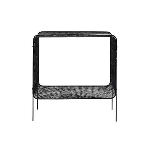 丹麥Nordal 工業風網狀設計邊桌 (高41公分)