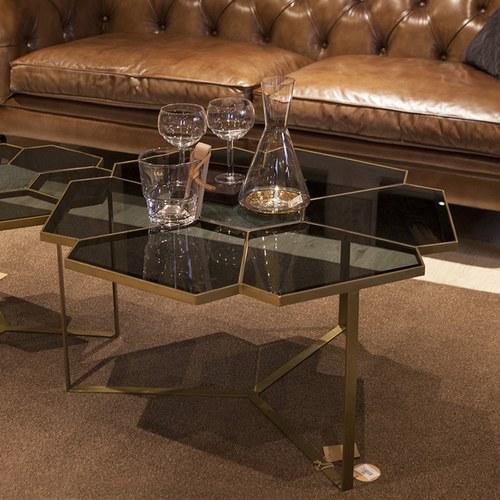 丹麥Nordal 花朵造型咖啡桌 (直徑90公分)