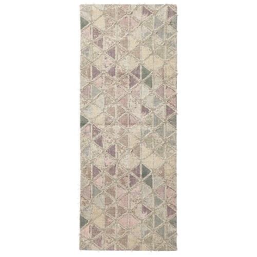 丹麥Nordal 仿舊拼磚圖紋地毯 (長200公分)