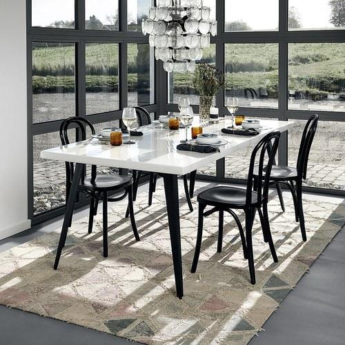 丹麥Nordal 仿舊拼磚圖紋地毯 (長240公分)