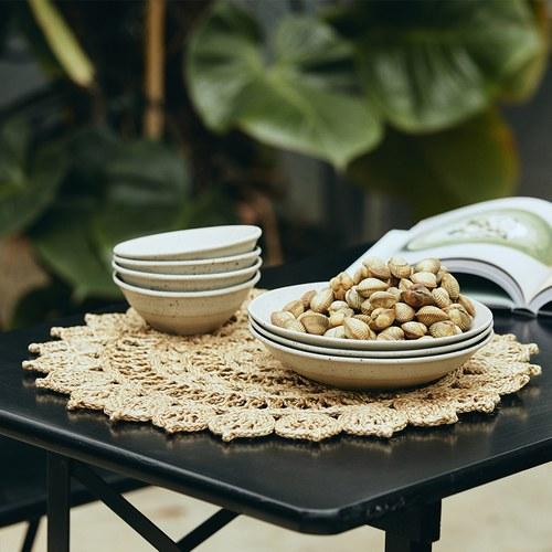 丹麥Nordal 東方圖騰編織圓型餐墊