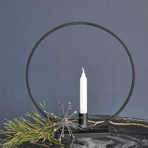 丹麥Nordal 圓弧裝飾燭台