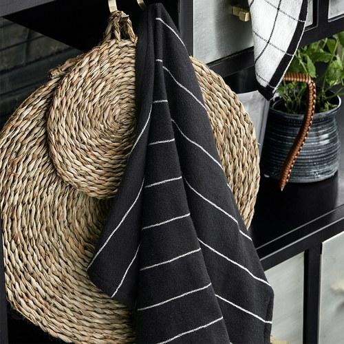 丹麥Nordal 簡約線條茶巾