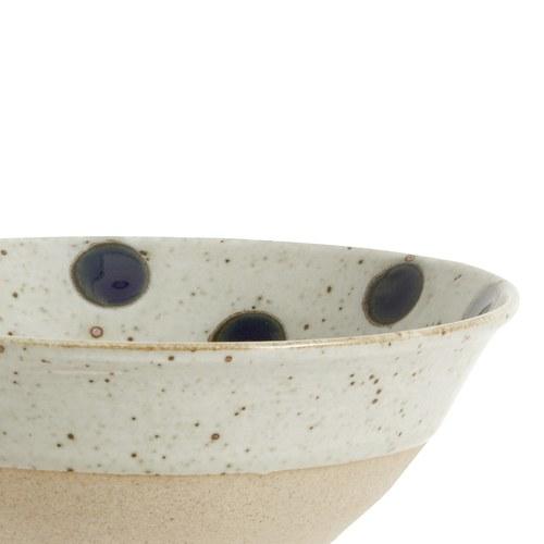 丹麥Nordal 復古點點穀物麥片碗 / 餐碗 (藍莓)