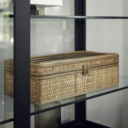 丹麥Nordal 鄉村編織多格收納盒  (中)