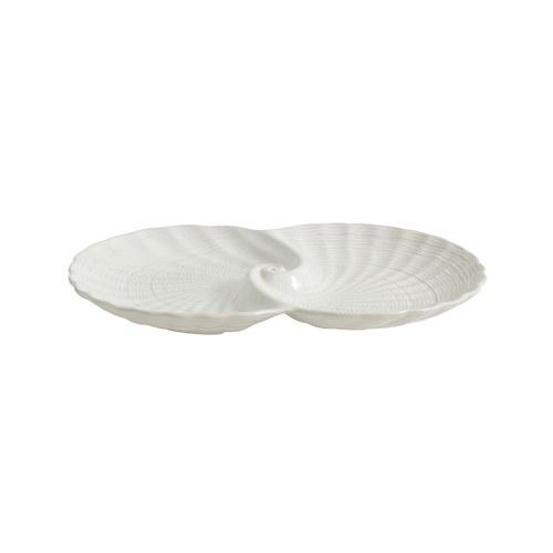 丹麥Nordal 海洋貝類刻紋餐盤