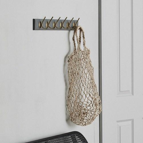 丹麥Nordal 手工編織網狀簍空提袋 (小)