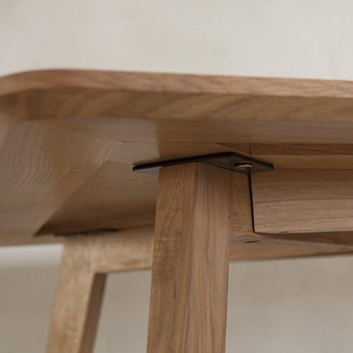 夏馬選物ShiamalSelect 簡約木質矩形輪廓餐桌 (長160公分)