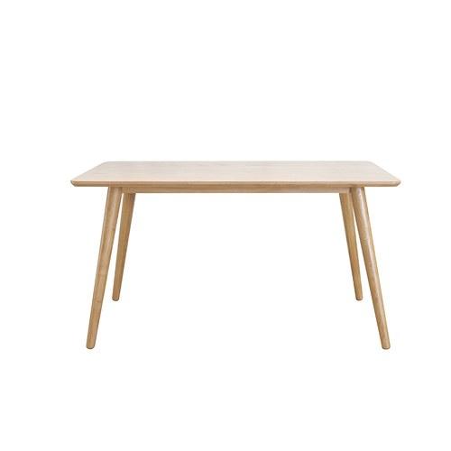 夏馬選物ShiamalSelect 北歐自然木作餐桌 (長140公分)