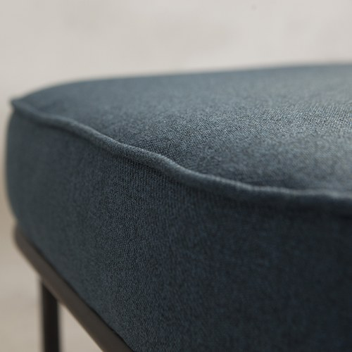夏馬選物ShiamalSelect 北歐長形布面椅凳 (深藍)