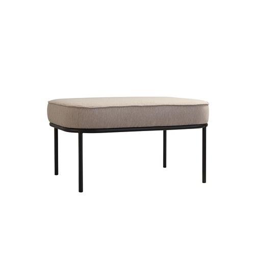 夏馬選物ShiamalSelect 北歐長形布面椅凳 (米)