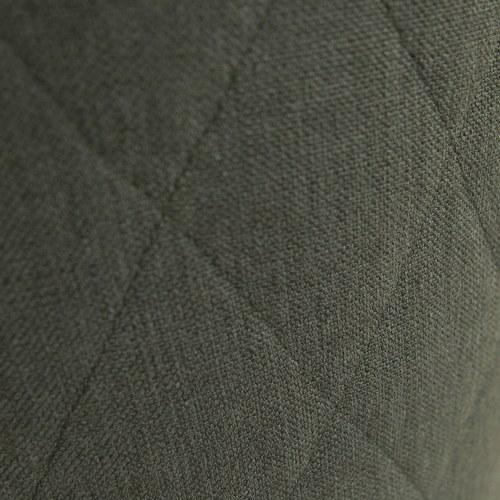 夏馬選物ShiamalSelect 菱紋布面圓形椅凳 (綠)