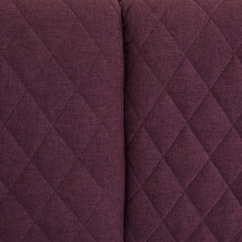 夏馬選物ShiamalSelect 歐風菱紋三人座沙發 (紫)