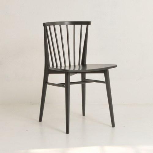 丹麥Sketch 鏤空椅背單椅 (黑)