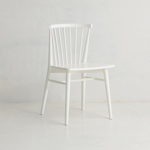丹麥Sketch 鏤空椅背單椅 (白)