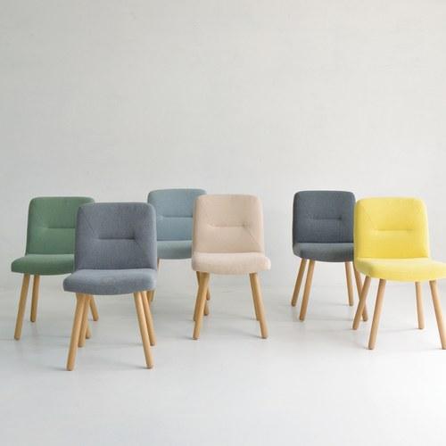 丹麥Sketch 簡約L型布面單人椅 (深灰)
