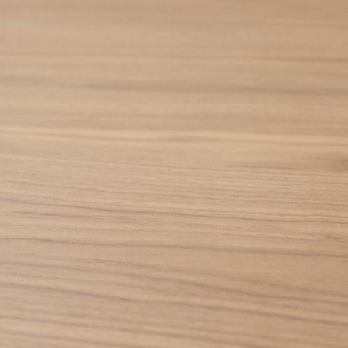 丹麥Sketch 北歐簡約 立體邊緣雙層邊桌 (胡桃木、90cm)