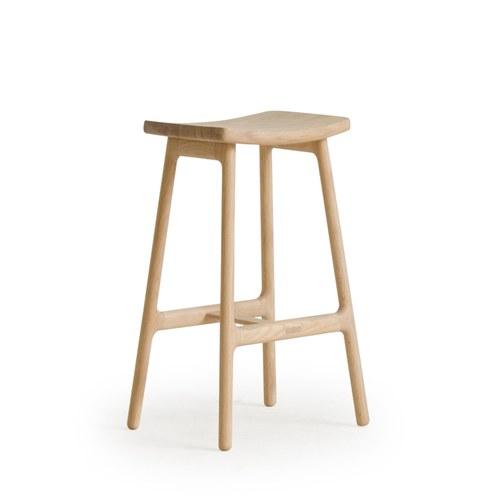 丹麥Sketch 微波浪簡約造型吧台椅(高65.5公分)