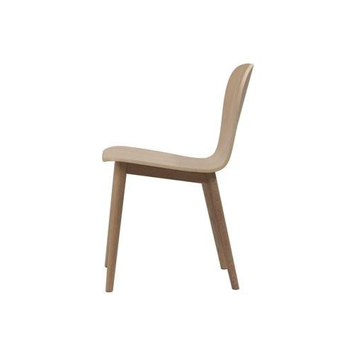 丹麥Sketch Puddle圓弧流線型單椅 (橡木)