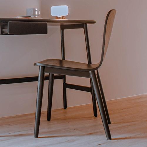 丹麥Sketch Puddle圓弧流線型單椅 (黑)