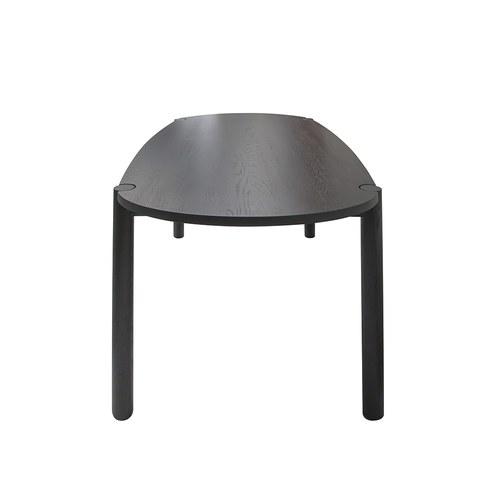丹麥Sketch Cove橢圓型膠囊餐桌 (黑、180公分)