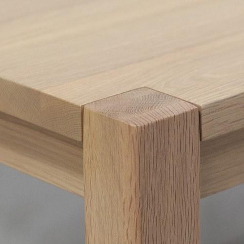 丹麥Sketch 斯德哥爾摩簡約餐桌 (橡木、140公分)
