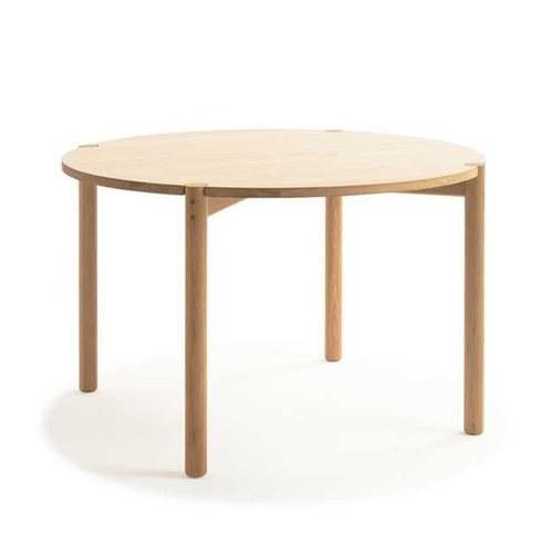 丹麥Sketch Cove圓形糖錠餐桌 (橡木、120公分)