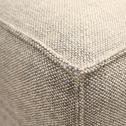 丹麥Sketch Baker澎厚吐司布面沙發 (麻灰、200公分)