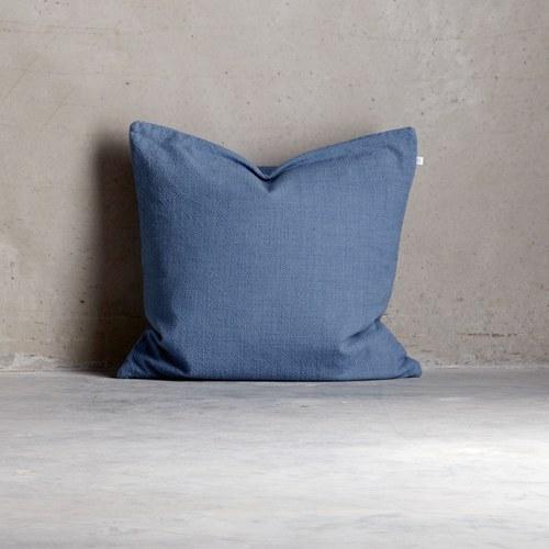 丹麥tineKhome 蔚藍色素雅方形抱枕 (長60公分)