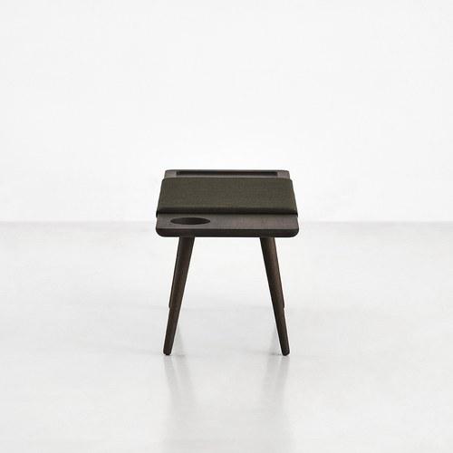 丹麥WOUD BAENK休憩長椅凳 (煙燻木)
